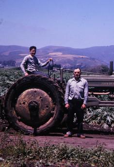 1963 Nonno and Dino at Ranch.jpg