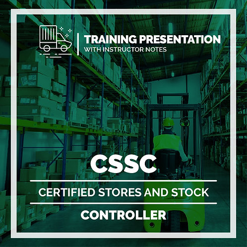 CSSC Presentation - Instructors - Printed Version 4.0