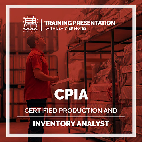 CPIA Presentation with Learners Notes -  Printed Version 4.0