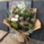 succulent flower bouquet