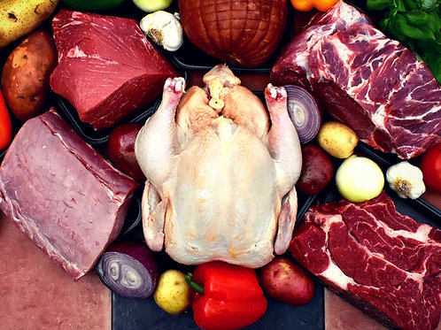 Bulk Meat Package! Beef! Pork! Chicken! ALL NATURAL!