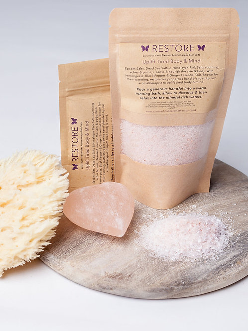 Restore Aromatherapy Bath Salts (80g or 280g)