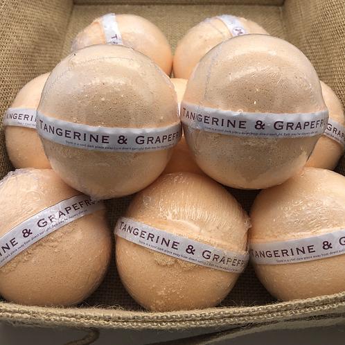 Tangerine & Grapefruit Bath Bomb
