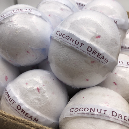 Coconut Dream Bath Bomb