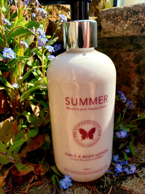 Summer, Hand & Body Lotion