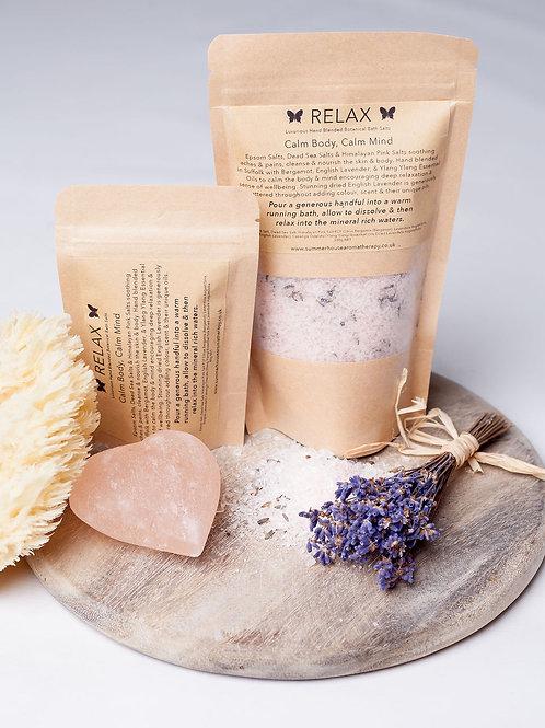 Relax Botanical Bath Salts (80g or 280g)