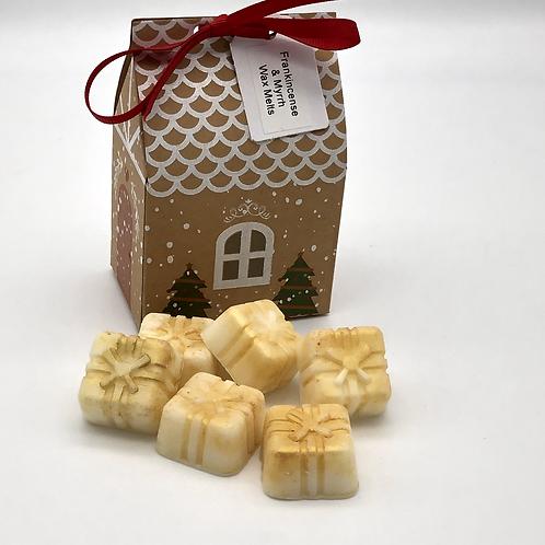 Frankincense & Myrrh Christmas House Wax Melts