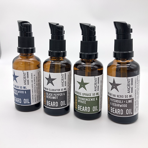 Roman Gladiator Beard Oil