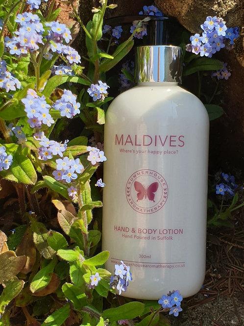 Maldives, Hand & Body Lotion