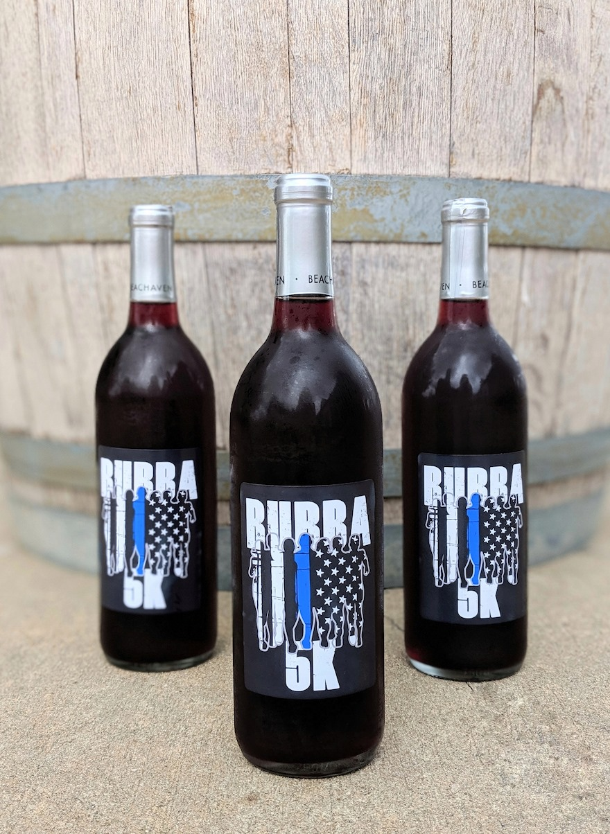 Custom Wine Labels for Charity Runs