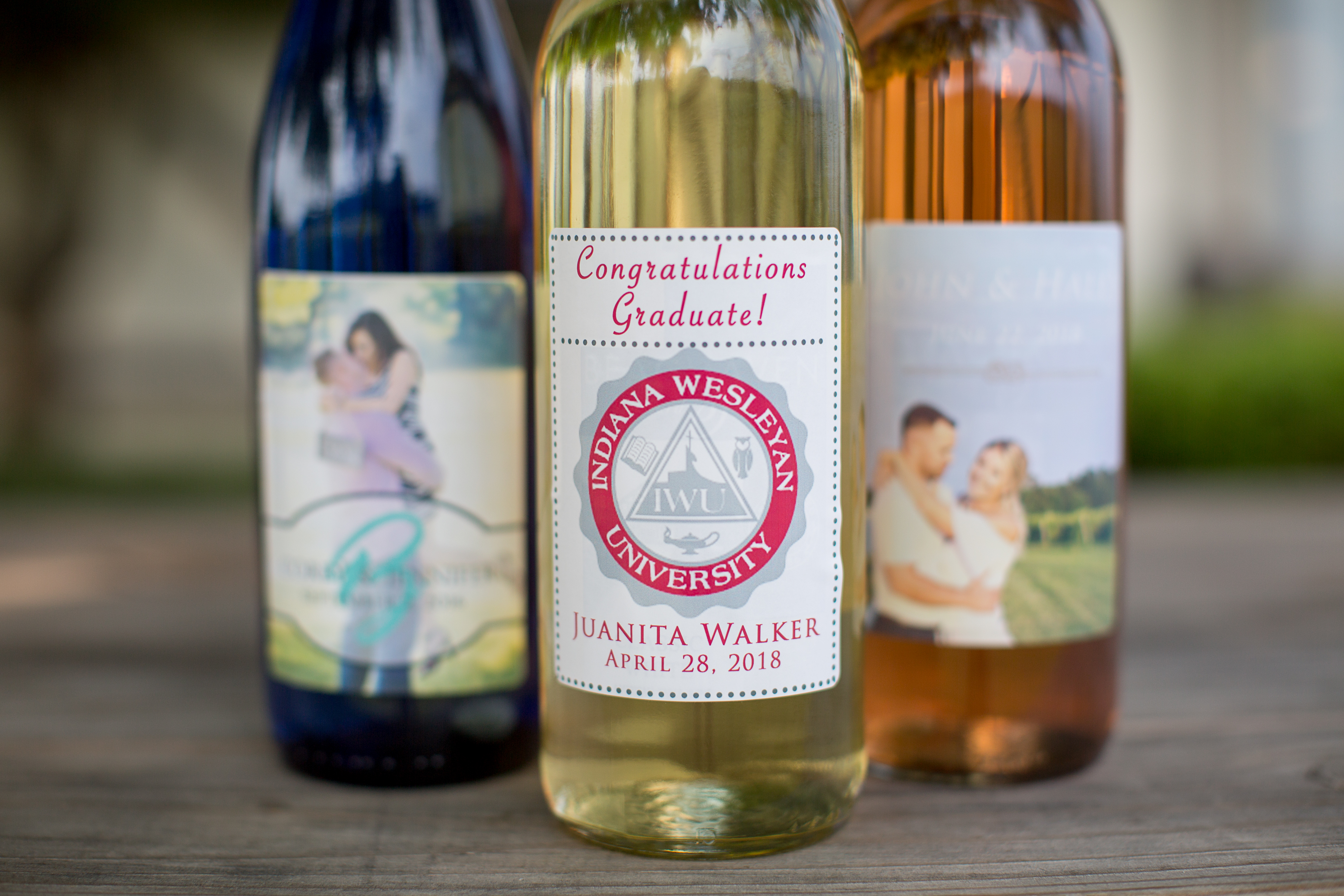 Custom Wine Labels for Celebrations