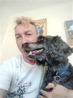 Me and Barney