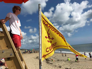 Yellow Flags - Dangerous Current