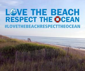 Love the Beach, Respect the Ocean