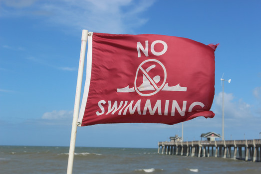 Red Flag - No Swimming