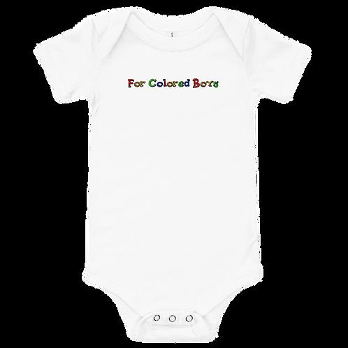 For Colored Boys Baby Premium Onesie