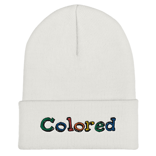 Colored Cuffed Beanie