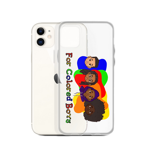 For Colored Boys iPhone Case
