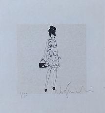 Nur GranVia dibujos ilustraciones serigr