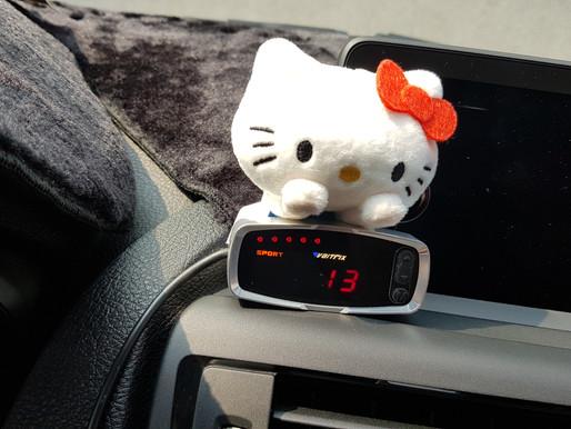 BMW 118i 安裝VAITRIX數位油門優化控制器與VAITRIX 直插式無刷馬達渦輪錶