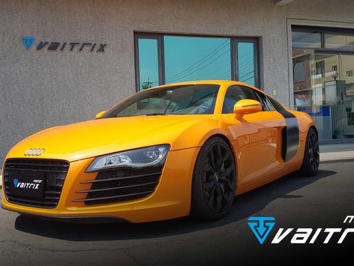 ADUI 奧迪 R8 V8安裝VAITRIX數位油門優化控制器
