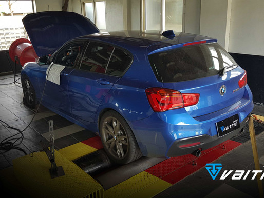 BMW 135i 安裝VAITRIX 可程式外掛電腦 +VAITRIX直插式無刷馬達渦輪錶