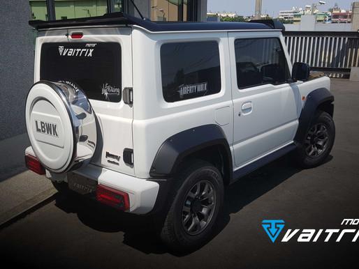 2019 Suzuki 鈴木 Jimny安裝VAITRIX數位油門優化控制器