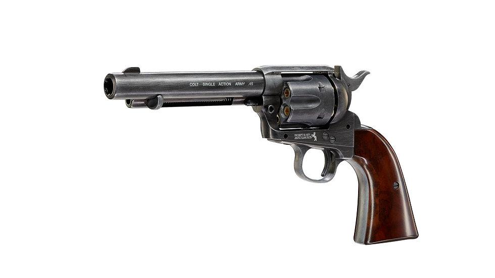 PISTOLA UMAREX CO2 BBS Colt SAA .45-5.5 UM-5.8307