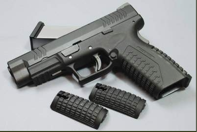 PISTOLA SOFTAIR BLOWBACK XDM WE-X001-WE X-Tactical Pistol