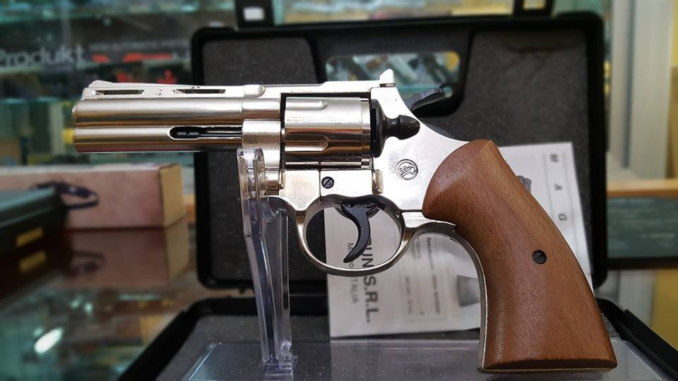 BRUNI  Revolver  Magnum Crom. mod. 357  cal 380mm