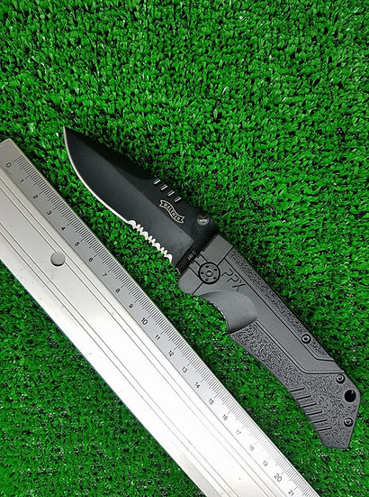 COLTELLO WALTHER PPK BLACK  UM-5.0766