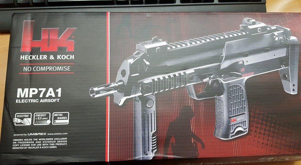 FUCILE SOFTAIR HK MP7A1 ELETTRICO