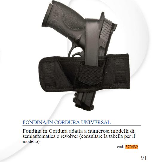 FONDINA CORDURA UNIVERSAL UNCLE MIKES
