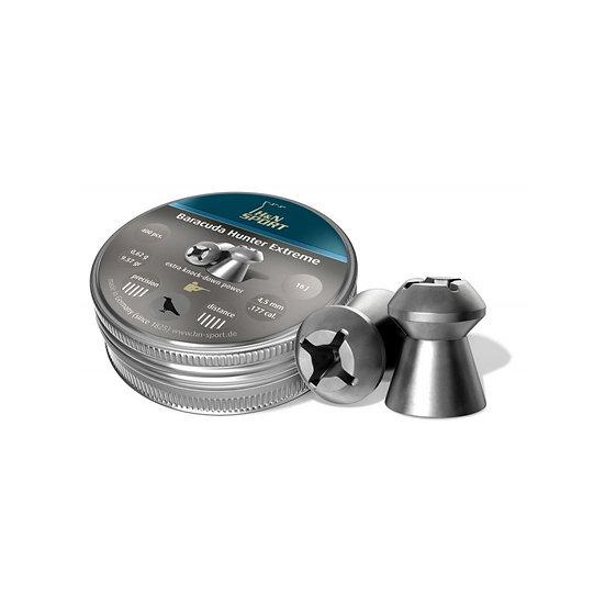 PALL.H&N BARACUDA HUNTER EXTREME CAL 4.5 GR 0.69 CZ X 400 Riferimento  HN-HE450