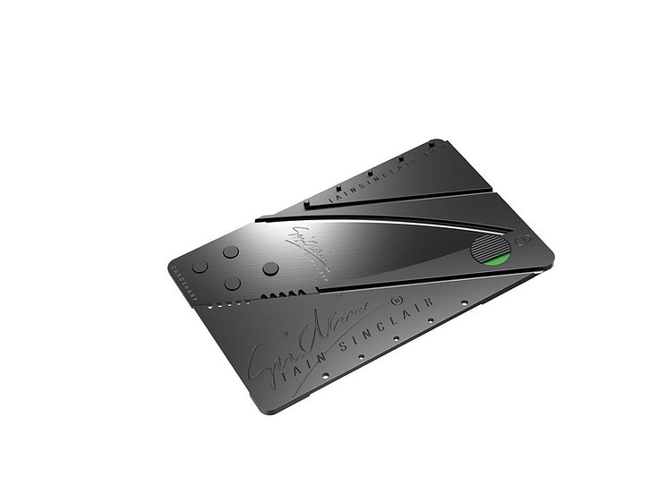 Coltello Cardsharp(c) Credit Card Folding Safety