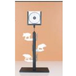 SC TARGET STAND 14X14 DELUXE CON BASE