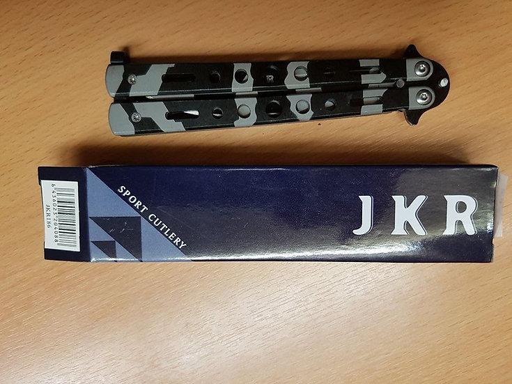 1203132 BUTTERFLY MANICO ACCIAIO INOX  LAMA 10CM JK-186
