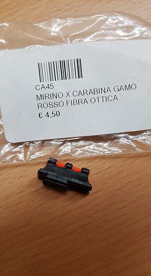 MIRINO X CARABINA GAMO ROSSO FIBRA OTTICA CA45