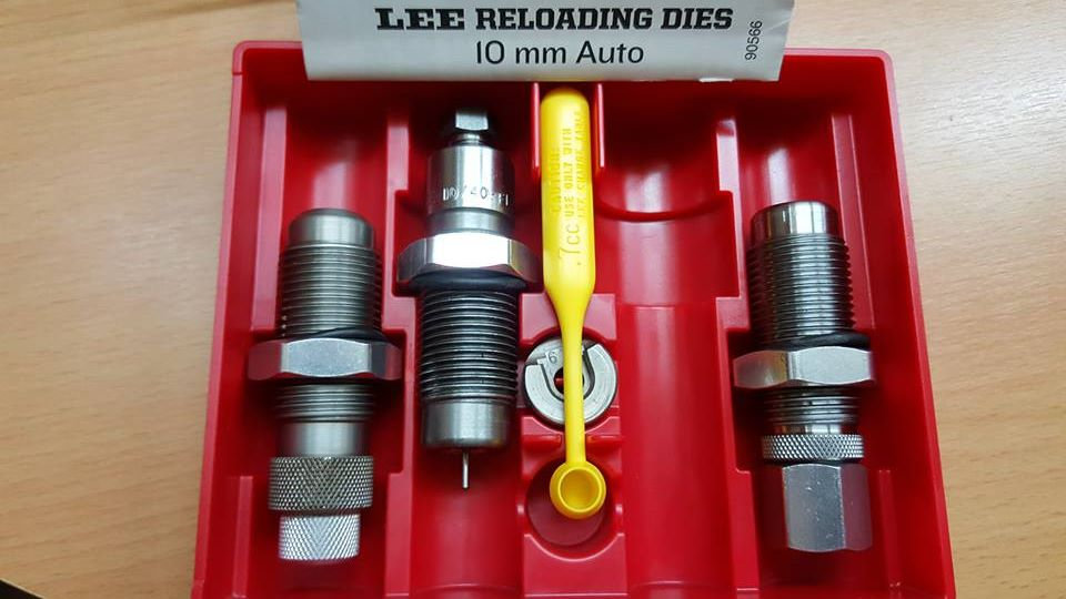 LEE CARBIDE 3 DIE SET CAL. 10MM PISTOLA