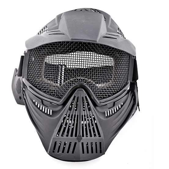 Airsoft Mask (Black Color)