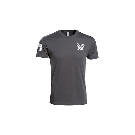 VORTEX T-SHIRT PATRIOT GREY MEDIUM