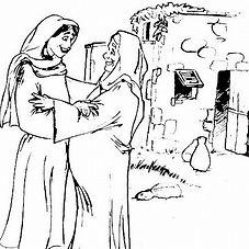Femmes de la bible Elisabeth mère Jean Baptiste