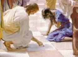 Femmes de la bible femme adultère