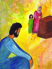 Femmes de la bible veuve pauvre au temple