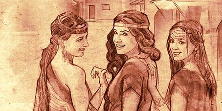 Femmes de la bible Dina