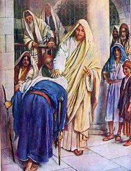 Femmes de la bible la femme courbée