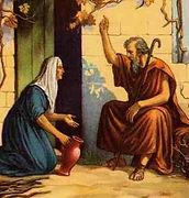 Femmes de la bible Veuve Sarepta