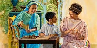 Femmes de la bible Saphira Evodie Syntiche Lois Eunice Jairus