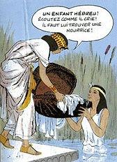 Femmes de la bible Fille du pharaon