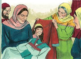 Femmes de la bible Tabita Dorcas
